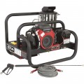 NorthStar Gas Hot Water Commercial Pressure Washer Skid — 4,000 PSI, 4.0 GPM, Honda Engine
