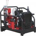 NorthStar ProShot Hot Water Commercial Pressure Washer Skid — 3000 PSI, 8.0 GPM, 2 Spray Guns/Lances, Diesel Kubota Engine
