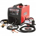 Lincoln Electric Easy MIG 180 Flux-Cored/MIG Welder — Transformer, 230V, 30–180 Amp Output, Model# K2698-1