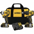 DEWALT 20V MAX Compact Brushless 2-Tool Kit — 2 Batteries, Model# DCK278C2