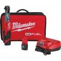 Milwaukee M12 FUEL Cordless Brushless 3/8in. Ratchet Kit — 2 Batteries, Model# 2557-22