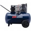 Campbell Hausfeld Portable Electric Air Compressor — 3.2 HP, 30-Gallon Horizontal, 10.2 CFM, Model# VT6271