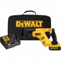 DEWALT 20 Volt MAX Compact Reciprocating Saw Kit — 1 Lithium-Ion Battery, Charger, Model# DCS387P1