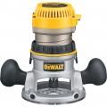 DEWALT Fixed Base Router — 1 3/4 HP, 24,500 RPM, Model# DW616