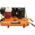 Industrial Air Gas-Powered Wheelbarrow Air Compressor — 5.5 HP Honda Engine, 8-Gallon, Model# CTA5590856