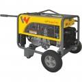 Wacker Neuson Portable Generator — 6,600 Surge Watts, 6,000 Rated Watts, Honda GX340 Engine, EPA Compliant, Model# GP6600A/5100042220