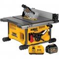 DEWALT FLEXVOLT 60 Volt MAX Brushless 8 1/4in. Table Saw Kit — One FLEXVOLT Battery, Model# DCS7485T1