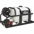 NorthStar Cold Water Pressure Washer Skid with 200-Gal. Tank — 2000 PSI, 3.5 GPM, Honda Engine