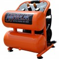 EMAX Hulk Silent Air Portable Air Compressor — 1.5 HP, 4 Gallon, Model# HP15P004SS