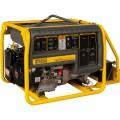 Wacker Neuson Portable Generator — 6600 Surge Watts, 6000 Rated Watts, Electric Start, Model# GPS6600A