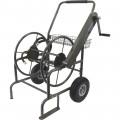 Milwaukee Industrial Garden Hose Reel Cart — Holds 250-Ft. of Hose, Model# HC250MILW