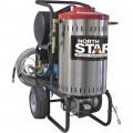 NorthStar Electric Wet Steam & Hot Water Pressure Washer — 2000 PSI, 1.5 GPM, 120 Volt