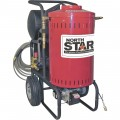 NorthStar Electric Wet Steam & Hot Water Pressure Washer — 2700 PSI, 2.5 GPM, 230 Volt
