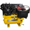 EMAX Industrial Plus 18 HP, 2-Stage, 60-Gallon, Horizontal Gasoline Air Compressor — Model# EGES1860ST
