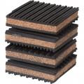 Klutch 4-Pk. of Air Compressor Vibration Pads