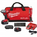 M18 FUEL™ Li-Ion 3/8in. Mid-Torque Impact Wrench and LED Stick Light Combo Kit — 2 Batteries, Model# 2852-22L