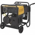 Klutch 4500K Arc Welder/Generator with 277CC Kohler Gas Engine and Wheel Kit — 130 Amp DC Output, 4500 Watt AC Power