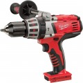 Milwaukee 28V Li-Ion Cordless Electric Hammerdrill — Tool Only, 1/2 in. Keyless Chuck, 1,800 RPM, Model# 0726-20