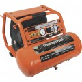 Industrial Air Contractor Pro Crew Portable Electric Air Compressor — 1.7 HP, 4-Gallon, 225 PSI, 5.1 CFM @ 90 PSI, Model# C041I