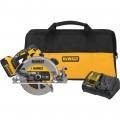 DEWALT 20 Volt MAX 7 1/4in. Cordless Circular Saw Kit – 1 Battery, Model# DCS570P1