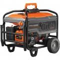 Generac Portable Generator — 8125 Surge Watts, 6500 Rated Watts, Electric Start, Model# 6825