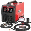 Lincoln Electric Easy Core 125 Flux-Cored/MIG Welder with Spool Gun — 120V, 30–125 Amp Output, Model# K2696-1
