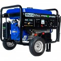 DuroMax Portable Dual Fuel Generator — 4400 Surge Watts, 3500 Rated Watts, Electric Start, Model# XP4400EH