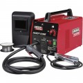 Lincoln Electric Handy Core Flux-Cored Welder with Face Shield — Transformer, 115V, 35–88 Amp Output, Model# K2278-1
