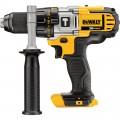 DEWALT 20V MAX Li-Ion Cordless Electric Compact Hammerdrill — Tool Only, 1/2in. Chuck, 2,000 RPM, 34,000 BPM, Model# DCD985B